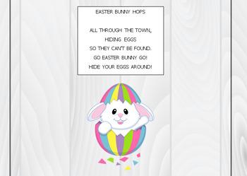 Easter themed worksheet