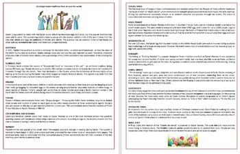 Easter traditions from all over the world - Reading Comprehension, Vocabulary