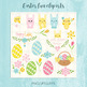 Easter vector clipart for commercial use.