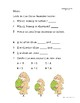 Easter Bunny Measurement Math Worksheets