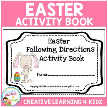 Easter Following Directions Book