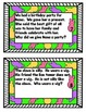 EasterPeeps Wh question task cards