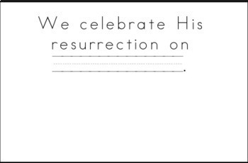 Easter/Resurrection Printable Journal