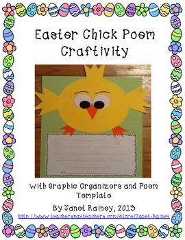 Easter/Spring Chick Poem Craftivity