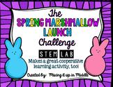 STEM Lab:  Spring Challenge-Easter Marshmallow Launcher/Catapult