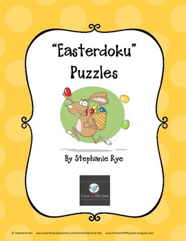 """Easterdoku"" Puzzles"
