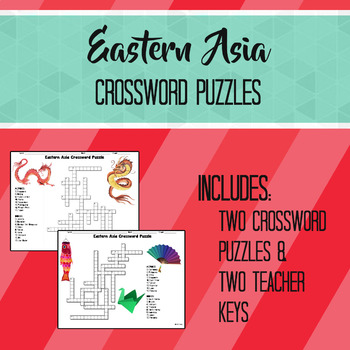 Eastern Asia Crossword Puzzles