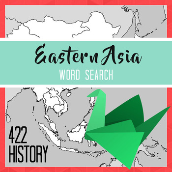 Eastern Asia Word Search