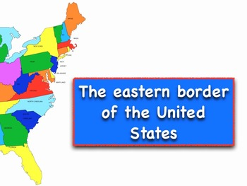 Eastern Border of the USA States Song mp3 by Kathy Troxel