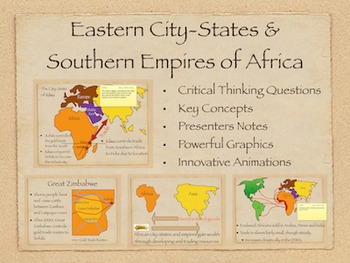 Eastern City States and Southern Empires PowerPoint and Keynote Presentation