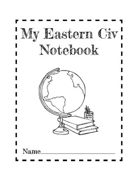 Eastern Civilization Interactive Notebook Cover