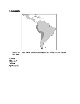 Eastern Empires Exam -- Respondus Format (World Civilizations II)