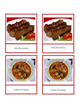 Eastern Europe Food Cards