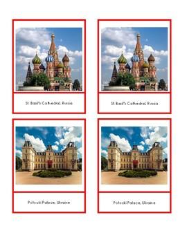 Eastern Europe Landmark Cards