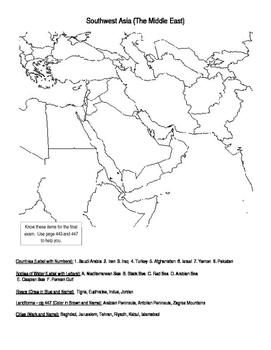 Eastern Hemisphere: Geography Review