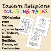 Eastern Religions (Hinduism, Buddhism, Daoism, MORE) Coloring Pages
