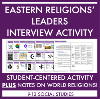 Eastern Religions' Leaders Dialogue/Interview