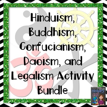 Eastern Religions/Philosophies Bundle {Hinduism,Buddhism,Confucianism,Daoism}