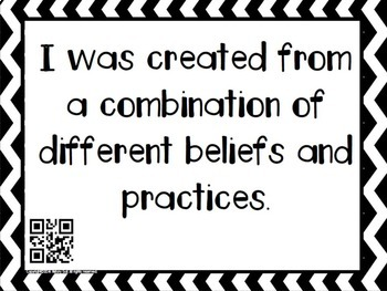 Who Am I? Hinduism, Buddhism, Confucianism, Daoism, Legalism Activity {QR Codes}
