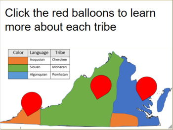 Eastern Woodland Indians In Virginia Worksheets & Teaching ...