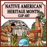 Eastern Woodland Region Native People the Wampanoag Clip Art