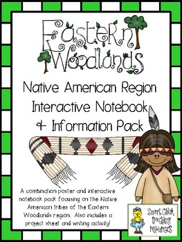 Eastern Woodlands Native Americans ~ Posters, Project Idea