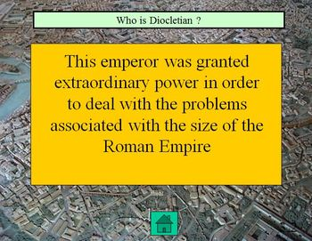 Eastern and Western Roman Empire - Quiz Show
