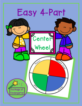 Easy 4-Part Center Wheel