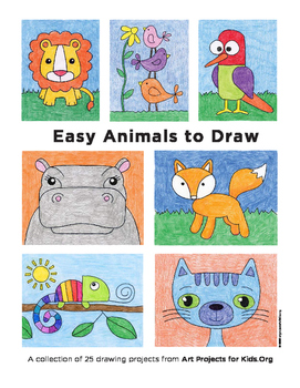 Easy Animals to Draw