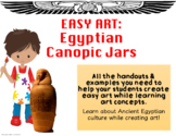Easy Art: Egyptian Canopic Jars