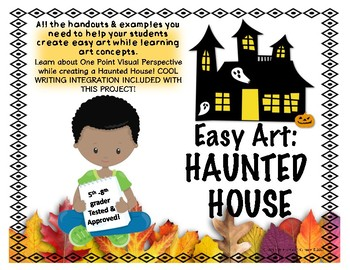 Easy Art: Haunted Houses or Fall Farms