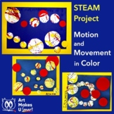 STEAM Easy Art Lesson - Motion and Movement in Art
