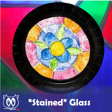 STEAM Art Lesson Stained Glass Powerpoint