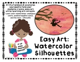 Easy Art: Watercolor Silhouettes - Try Easy Art for Free!
