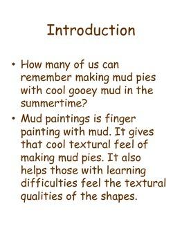 Easy Mud Finger Paintings