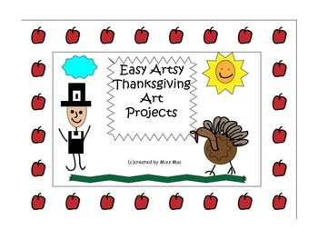 Easy Artsy Thanksgiving Art Projects