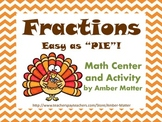 Easy As Pie- Feathery Fractions