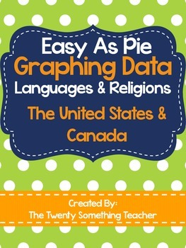 Graphing Data of Languages & Religions of the United States and Canada