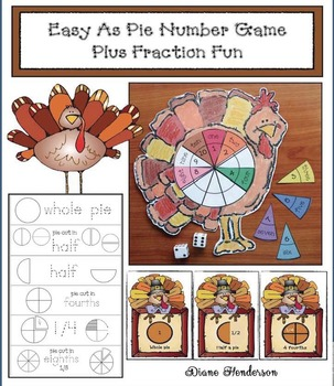 Easy As Pie Number Game Plus Fraction Fun