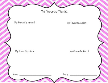 Easy Back-to-School Reflection Packet