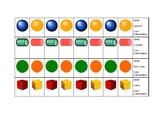 Easy Beading Task Cards
