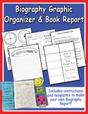 Easy Biography Graphic Organizer & Book Report - Heidi Songs