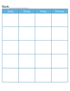 photograph relating to Free Printable Homeschool Planner named Straightforward Blank Homeschool Planner Calendar Absolutely free Printable through The