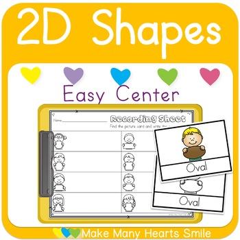 Easy Center: 2D Shapes