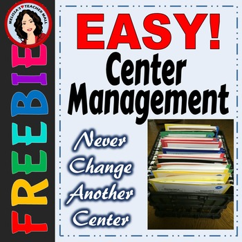 Easy Center Management, No Changing Centers, Organize and Forget It