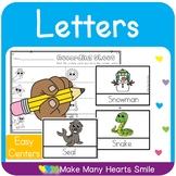 Easy Centers: Letter E    MMHS25