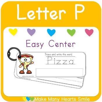 Easy Centers: Letter P    MMHS41