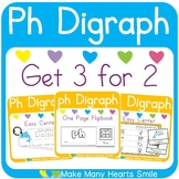 Easy Centers: Ph Digraph