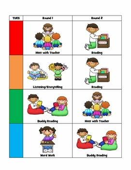 Easy Centers Workboard Charts