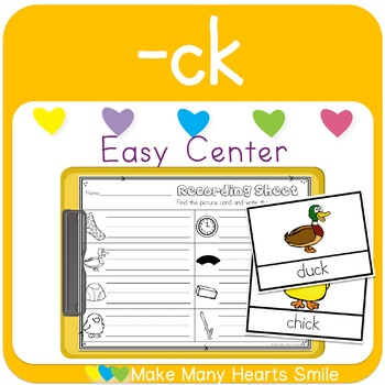 Easy Centers: -ck Digraph